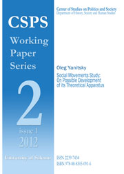 CSPS_1_2012 - Cover